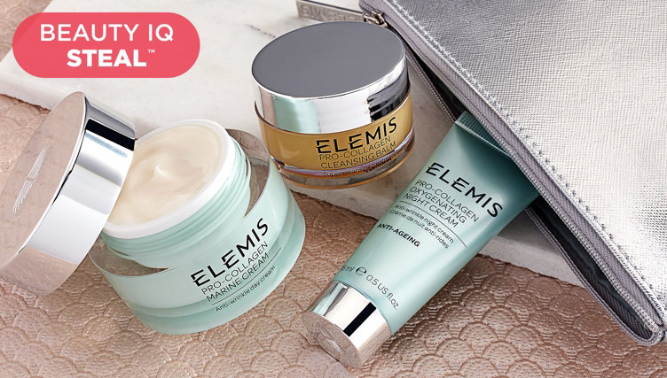 Beauty iQ Steal™ — ELEMIS Skin-Care Kit — Find this deal thru 8pm ET & shop upcoming Steals