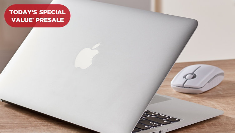 Today's Special Value® Presale — MacBook Air® Laptop — Shop QVC's lowest-priced MacBook® ever