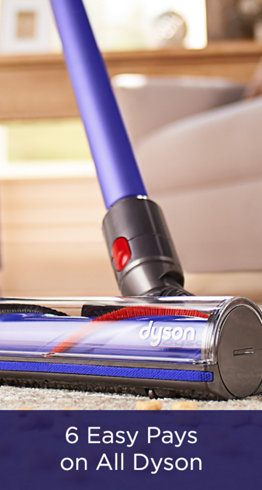 6 Easy Pays on All Dyson
