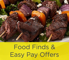Food Finds & Easy Pay Offers