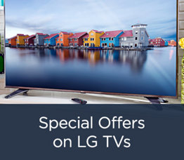 Special Offers on LG TVs