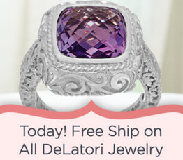 Today! Free Ship on All DeLatori Jewelry