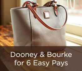 Dooney & Bourke for 6 Easy Pays