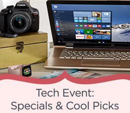 Tech Event: Specials & Cool Picks
