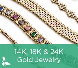 14K, 18K & 24K Gold Jewelry