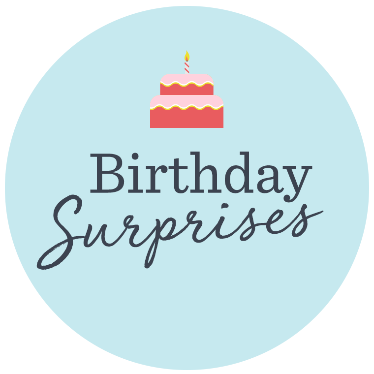 Birthday Surprises — New Offers Added