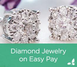 Diamond Jewelry on Easy Pay