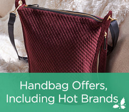 Handbag Offers, Including Hot Brands