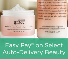 Easy Pay® on Select Auto-Delivery Beauty