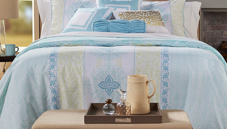 Cozy Linens — Keep stay-comfy essentials close at hand