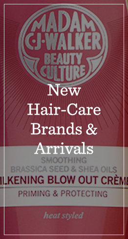 New Hair-Care Brands & Arrivals