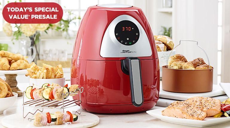 Shop our Power Air Fryer XL Pro TSV® early.