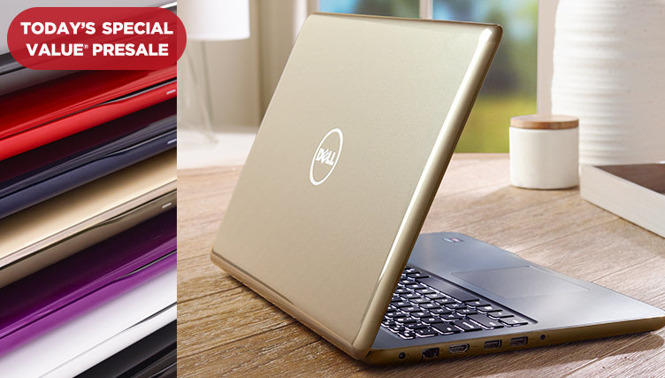 Shop Early: Dell™ Inspiron Laptop — Featuring an AMD-FX processor & backlit keyboard