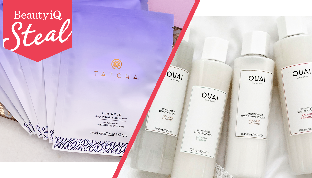 Looking for your next go-to? — Revamp your skin-care regimen with our Beauty iQ Steal™ from TATCHA—an exceptional deal only here thru 8pm ET—then shop more TATCHA finds. And, OUAI is just in! Indulge your tresses with hair-care & styling products from this need-to-know brand.