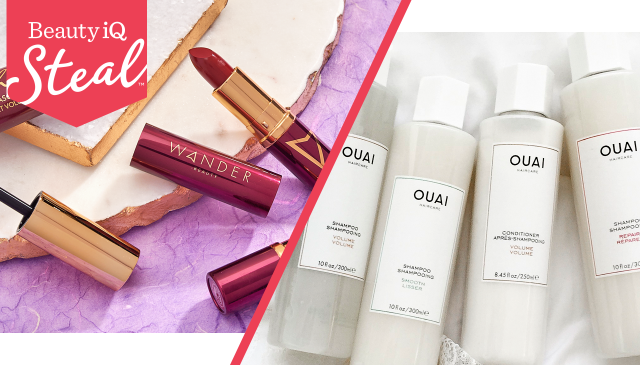 Looking for your next go-to? — Make over your makeup bag with our Beauty iQ Steal™ from Wander Beauty—an exceptional deal only here thru 8pm ET—then shop more Wander Beauty finds. And, OUAI is just in! Indulge your tresses with hair-care & styling products from this hot brand.