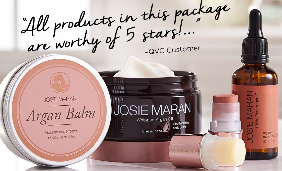"""All products in this package are worthy of 5 stars!..."" –QVC Customer"