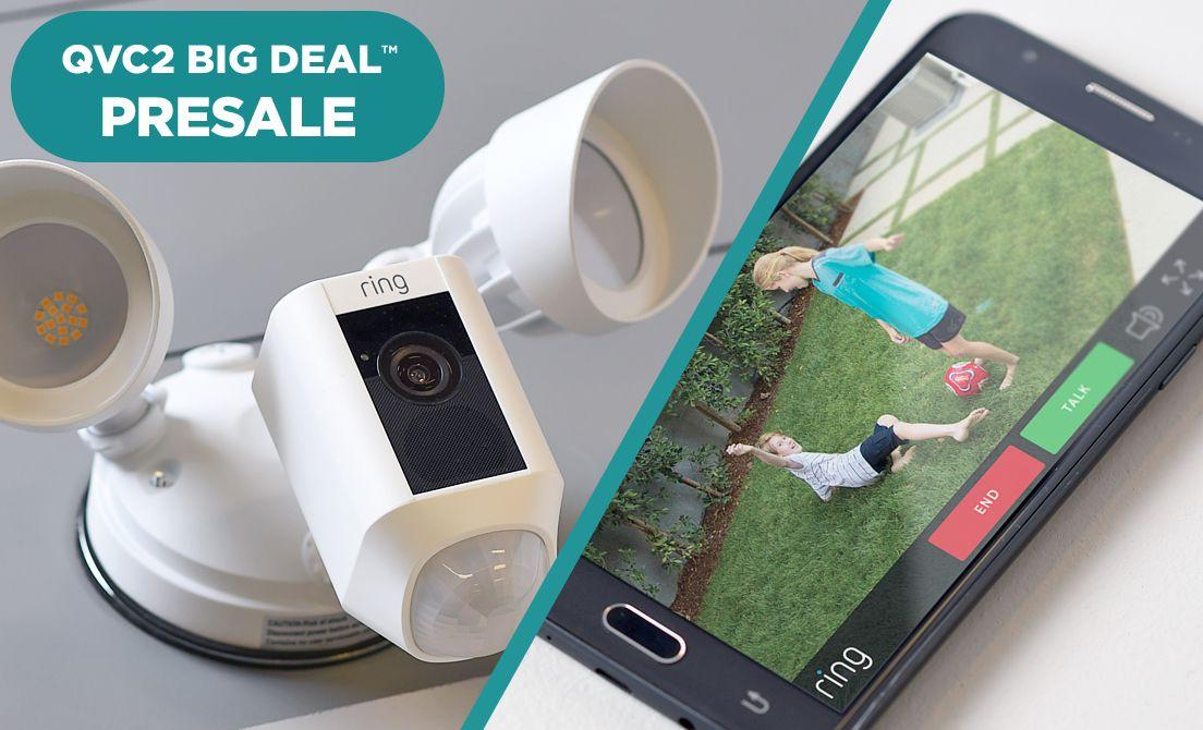 Ring Floodlight Camera QVC2 Big Deal(TM) Presale
