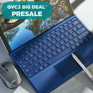 QVC2 Big Deal™ Presale — Stay on task with the Microsoft Surface Pro 4