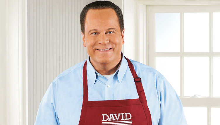 Live from San Fran — Watch In the Kitchen with David® at 8pm ET