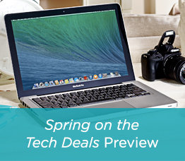 Spring on the Tech Deals Preview