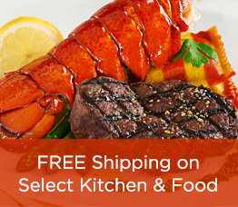 FREE Shipping on Select Kitchen & Food