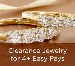 Clearance Jewelry for 4+ Easy Pays