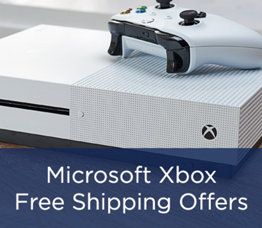 Microsoft Xbox Free Shipping Offers