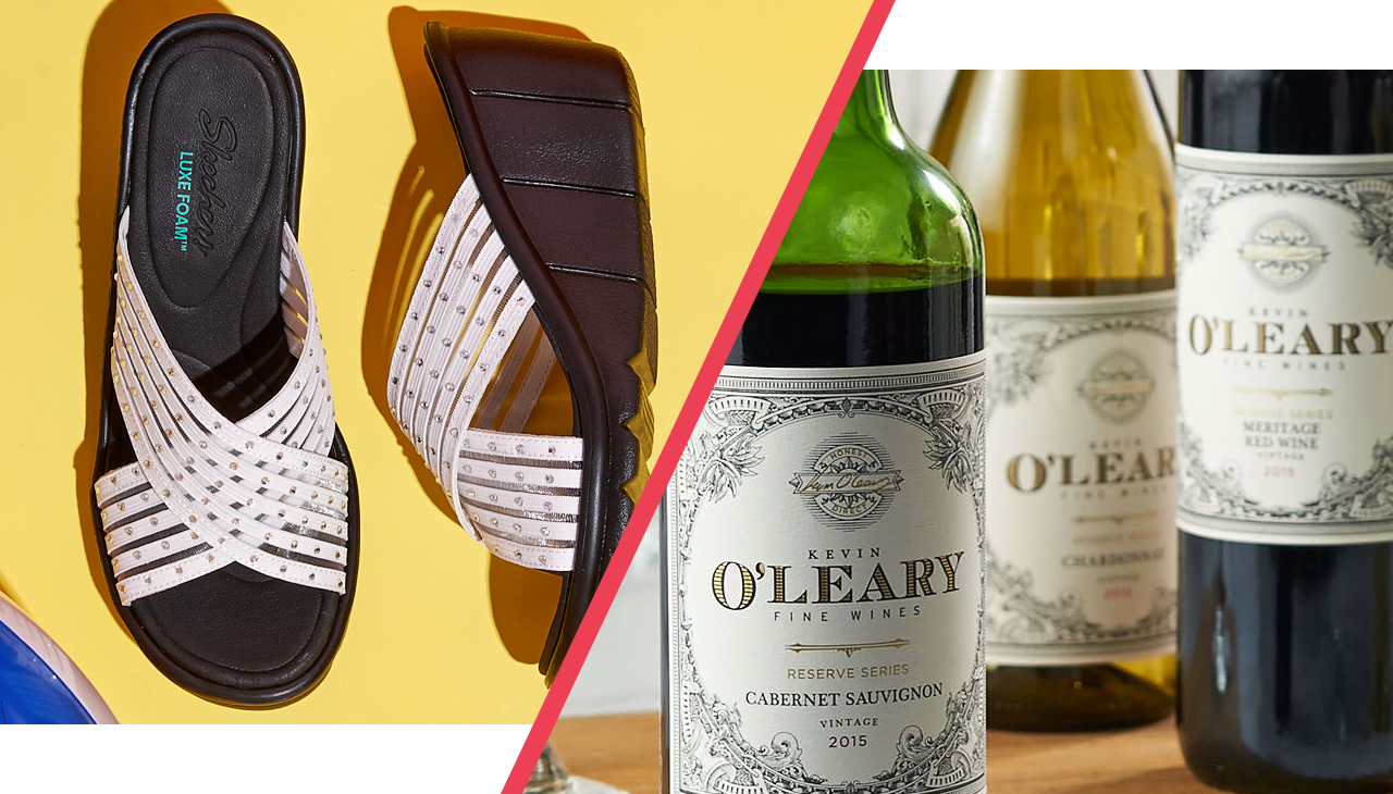 Let's toast to kicking back & kicking up our heels. — It's the season for rest, relaxation & revelry. Whether you're planning a tropical trip or a backyard bash, get stocked for summer with sunshine-ready sandals & entertaining essentials.
