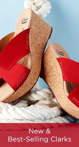New & Best-Selling Clarks