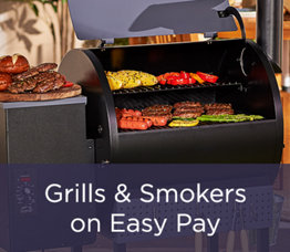 Grills & Smokers on Easy Pay