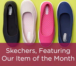 Skechers, Featuring Our Item of the Month