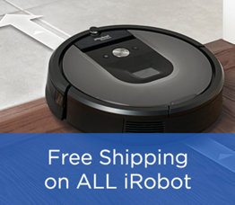 Free Shipping on ALL iRobot