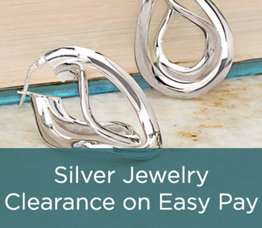 Silver Jewelry Clearance on Easy Pay