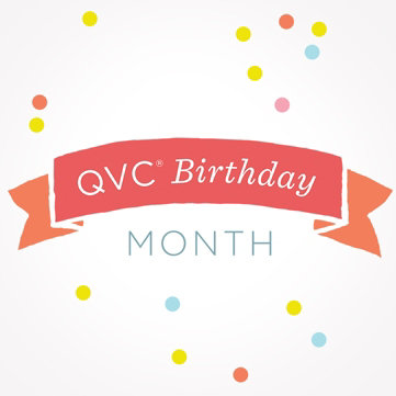 QVC Birthday Month: Confetti-Worthy Fun — Join in the celebration & shop special offers