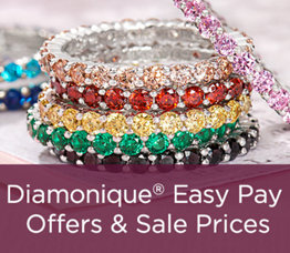 Diamonique® Easy Pay Offers & Sale Prices