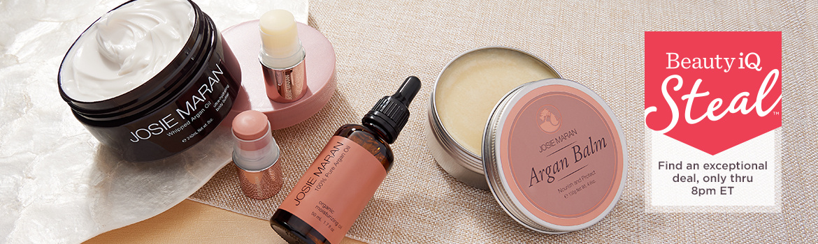 Beauty iQ Steal™ - Josie Maran Argan Oil 5-Pc Luxury Body & Face Collection  - Find an exceptional deal, only thru 8pm ET
