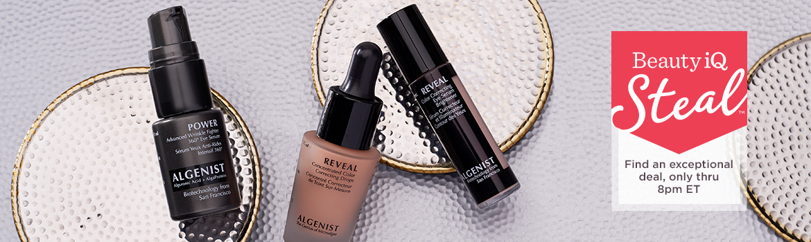 Beauty iQ Steal™ -  Algenist REVEAL Dark Circle Correcting Trio - Find an exceptional deal, only thru 8pm ET