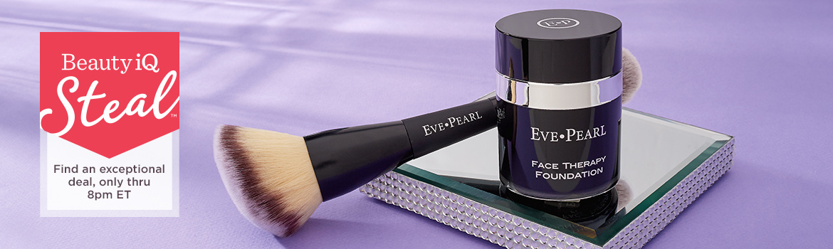 Beauty iQ Steal™ - Find an exceptional deal, only thru 8pm ET — Face Therapy Foundation & 203 Finishing Brush