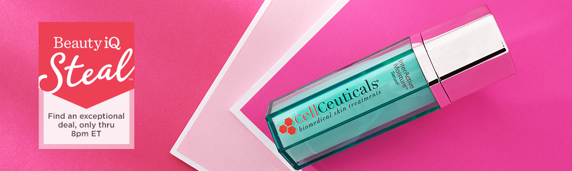 Beauty iQ Steal™ - Find an exceptional deal, only thru 8pm ET — CellCeuticals InterActive Moisture Serum 2, 1.25 oz