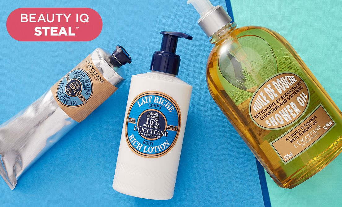 Beauty iQ Steal™ — L'Occitane Steal & More