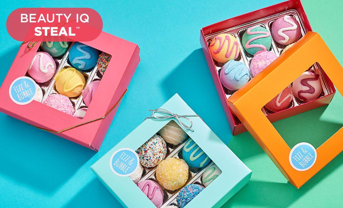 Beauty iQ Steal™ — Fizz & Bubble Finds