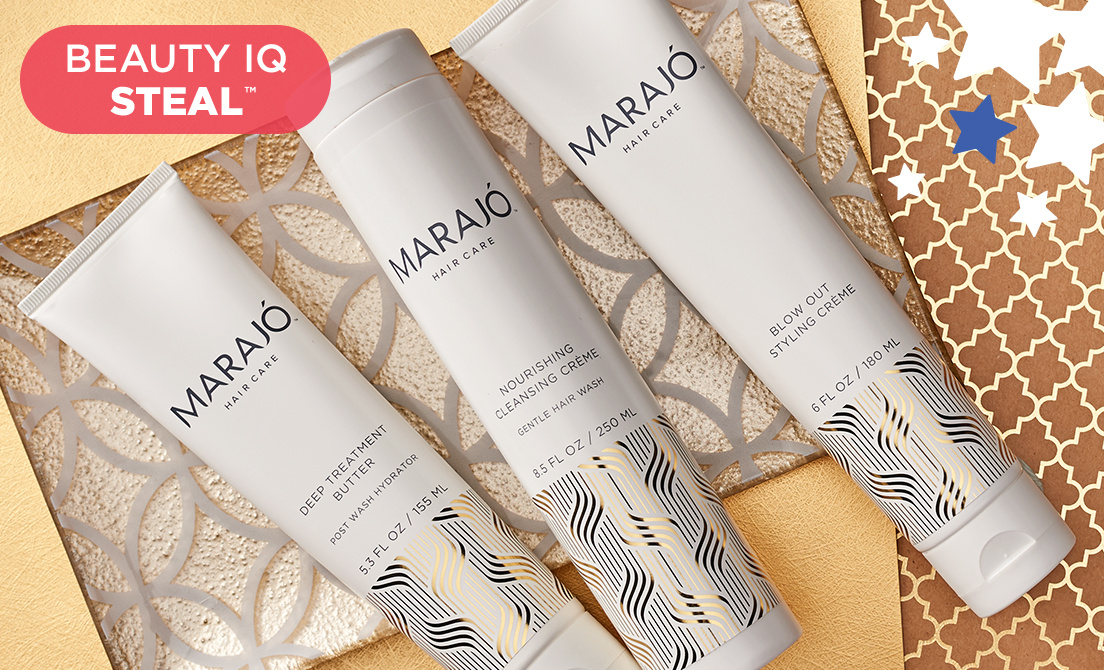 Beauty iQ Steal™ — MARAJÓ Steal & More