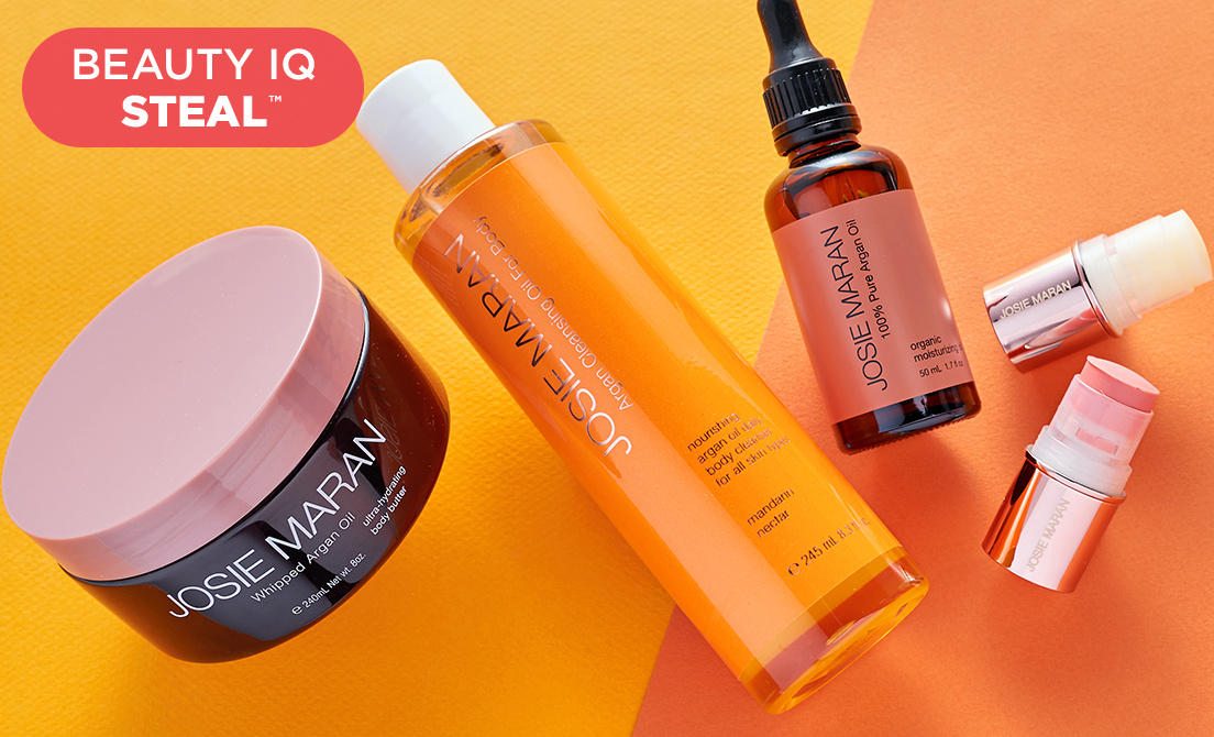 Beauty iQ™ Steal — Josie Maran Steal & More