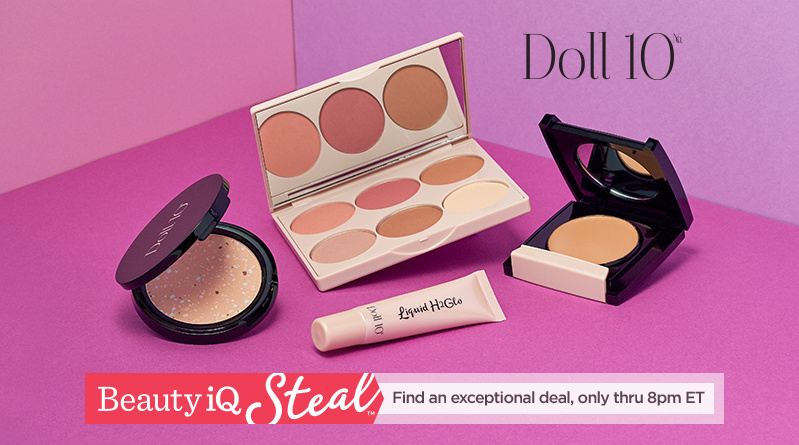 Beauty iQ Steal™ - Doll 10 4-piece Complexion Perfection Kit