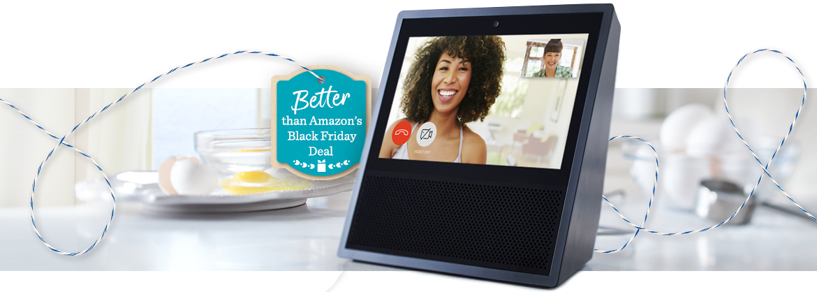 Better than Amazon's Black Friday Deal — Amazon TSV® Presale — Get the Echo Show & a TP-Link Smart Plug for $179.94