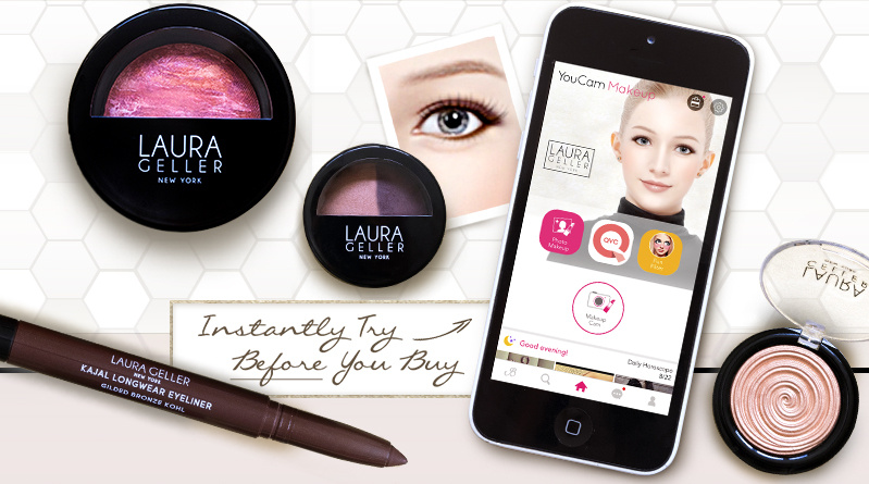 Instantly Try Before You Buy! Laura Geller The Gilded Collection 6-piece Golden Must-Haves