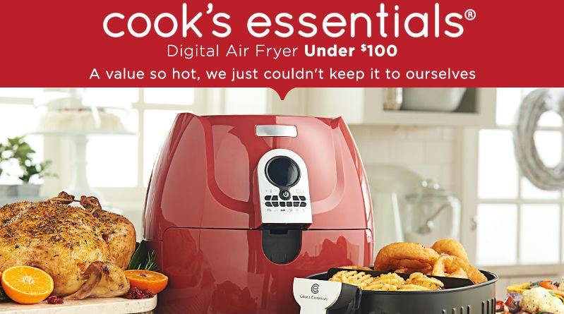 Cook's Essentials® Digital Air Fryer Under $100