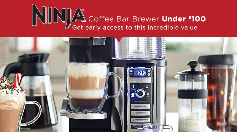 Ninja Coffee Bar Brewer Under $100