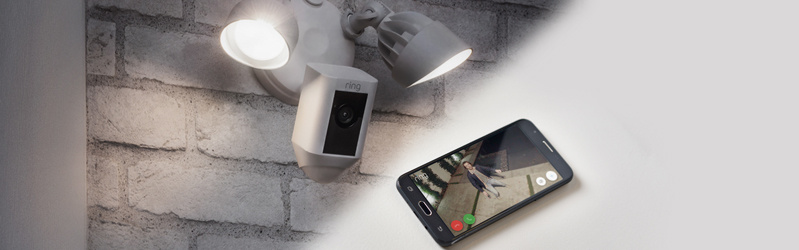 Ring TSV® Presale — Ring Floodlight Security Camera—best price available