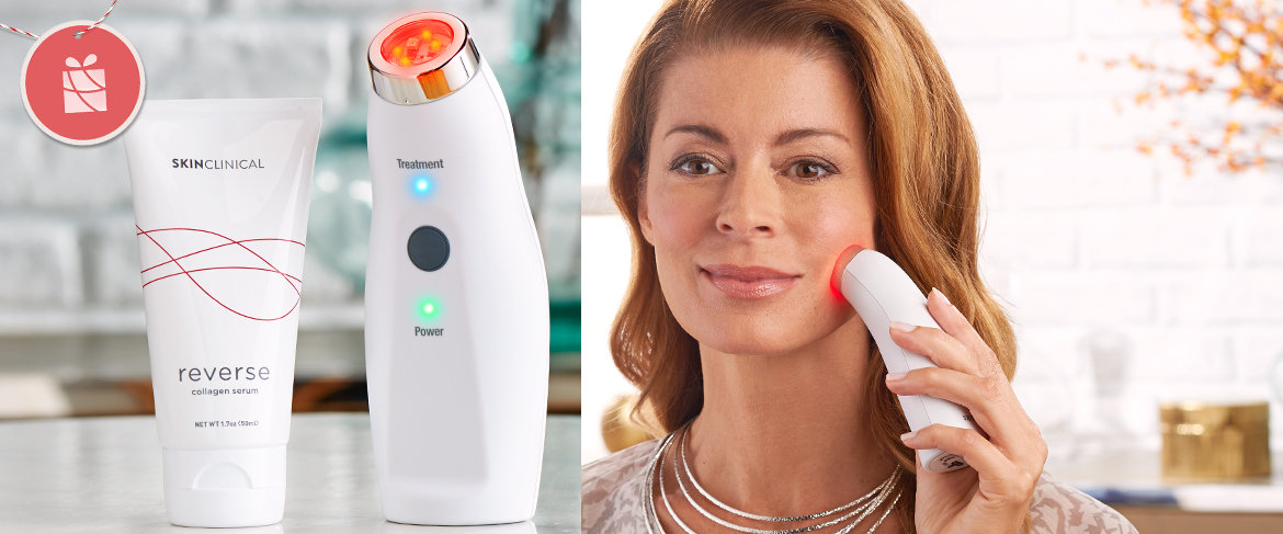 Qvc Skinclinical Reverse Light Therapy Device With Anti